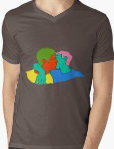 Tomorrows Love Mens V-Neck T-Shirt