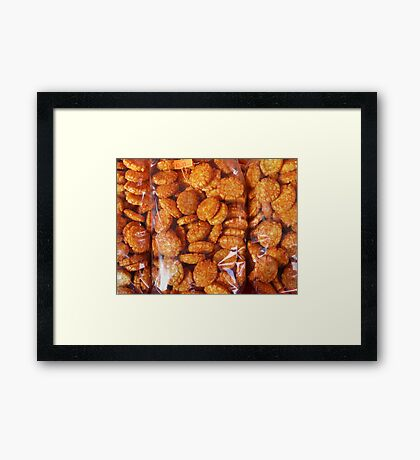 Food - hot rice crispies Framed Print