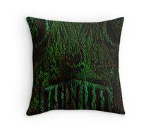 Forest Demon Homey Throw Pillow