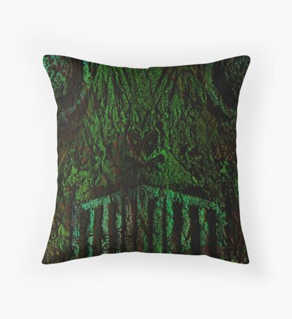 Forest Demon Homey Throw Pillow