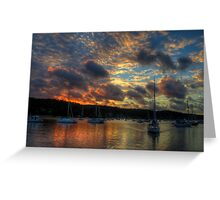 Paintbrush - Newport, Sydney - The HDR Experience Greeting Card