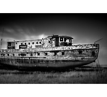 Old Boat Photographic Print