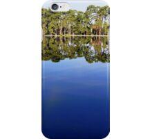 Lake view - sky mirror iPhone Case/Skin