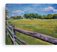 Pennsylvania Farm Canvas Print