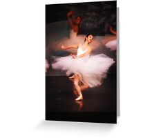 Movement Elegance Greeting Card