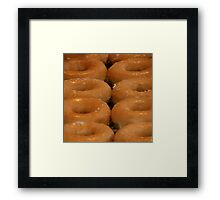 And Doughnuts For Your Dessert !!! Framed Print