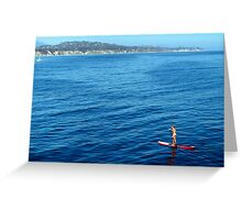 Card: Paddle Board - Summer 2009 Greeting Card