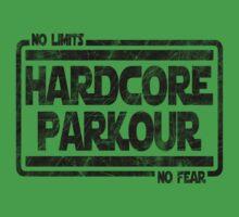 Hardcore Parkour - No Limits, No Fear Baby Tee