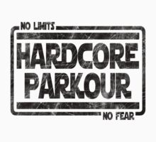 Hardcore Parkour - No Limits, No Fear One Piece - Short Sleeve
