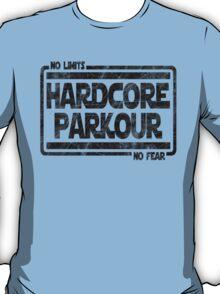 Hardcore Parkour - No Limits, No Fear T-Shirt