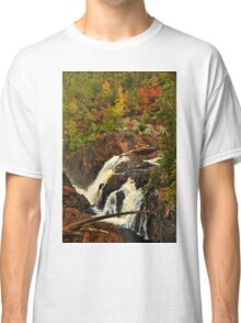 Waterfall - Fort Colunge, Quebec Classic T-Shirt