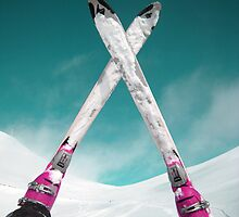 Ski  on Mountain Palandoken in Erzurum  by tulay cakir