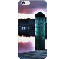 Sunset from the Dock iPhone Case/Skin