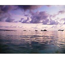 Amethyst Shore Photographic Print
