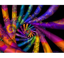 One of a Kind Spiral Photographic Print