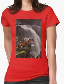 Waterfall - Fort Colunge, Quebec Womens Fitted T-Shirt