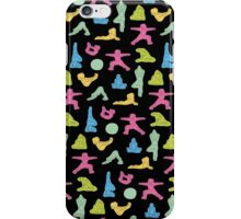 Rainbow Yoga Pattern iPhone Case/Skin