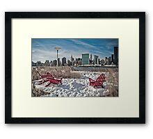 Gantry Plaza State Park  Framed Print