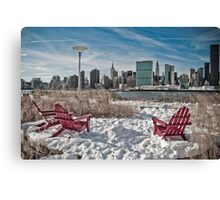 Gantry Plaza State Park  Canvas Print