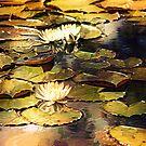 Gilded Lilies by Darlene Lankford Honeycutt