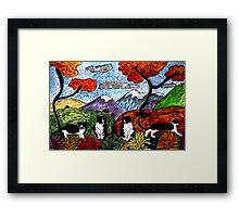 Tuxedo Valley Framed Print
