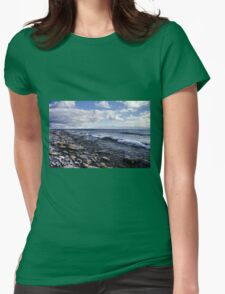 Shoreline on Lake Ontario - Amherst Island, Ontario - 2 Womens Fitted T-Shirt