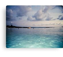Clear Ripples Canvas Print