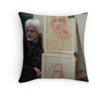 L'Artiste Throw Pillow