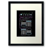 Wall of Sound Framed Print