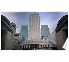 Citibank/HSBC/Barclays at Canary Wharf, London  Poster