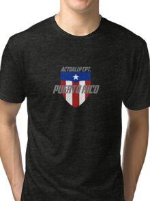 Actually Cpt. Puerto Rico Tri-blend T-Shirt