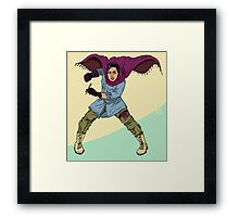 the heroes we deserve - Atena Farghadani Framed Print