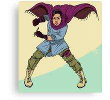 the heroes we deserve - Atena Farghadani Canvas Print