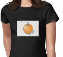Pumpkin Study Womens Fitted T-Shirt