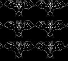 Skele Bat by ladymoondesigns