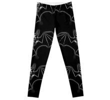 Skele Bat Leggings
