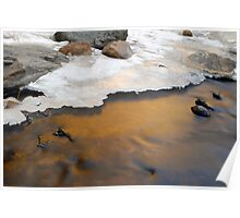 Bear Creek Reflection Poster