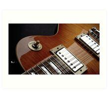 Guitar Icon : '59 Flametop Les Paul Art Print