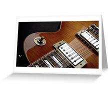 Guitar Icon : '59 Flametop Les Paul Greeting Card