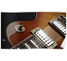 Guitar Icon : '59 Flametop Les Paul Poster