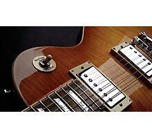Guitar Icon : '59 Flametop Les Paul Photographic Print