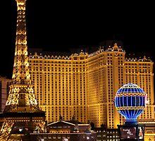 Paris Las Vegas  by Carl Mickleburgh