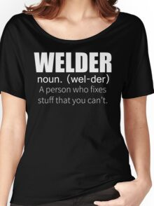 Funny Welder Definition T Shirt Women's Relaxed Fit T-Shirt