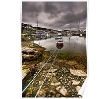 Newlyn Harbour Poster