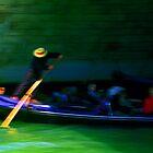 Gondola - Venice by Kent DuFault