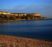 Portland from Chesil Beach by EmilyNagel
