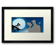 Down In New Orleans Framed Print