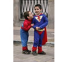 Super heroes!. Photographic Print
