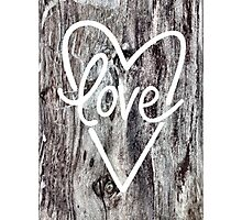 Love 3 Photographic Print