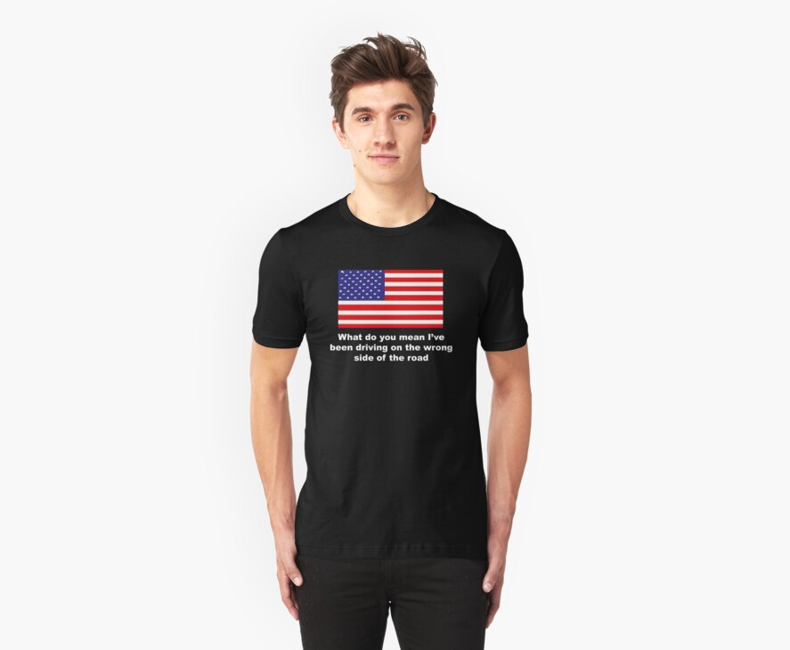 USA Travellers T-Shirt by AndyReeve